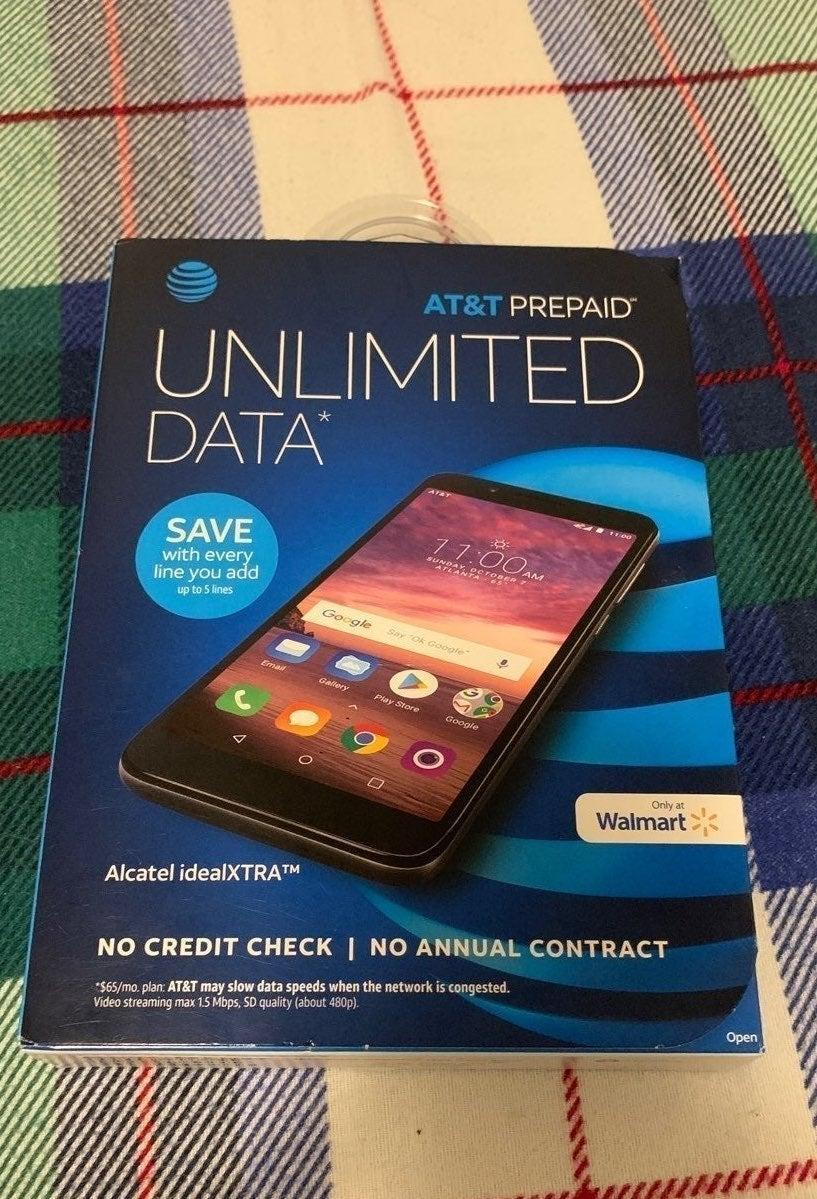 AT&T PREPAID ALCATEL IDEALXTRA 16GB