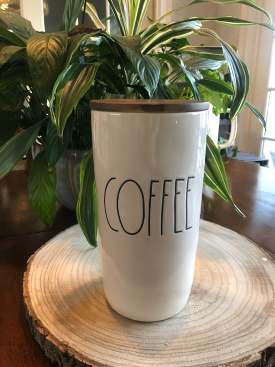 Rae Dunn Coffee Cellar Set NEW