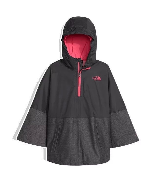 The North Face girls raincoat