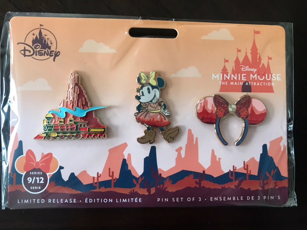 minnie mouse main attraction pins 9/12