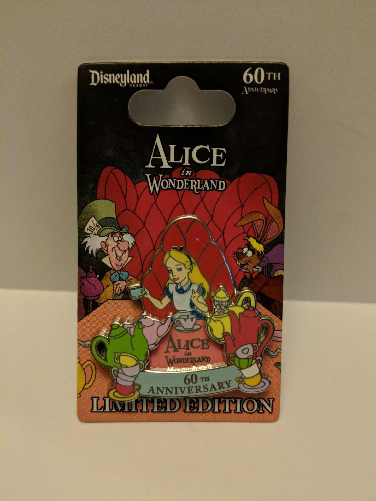 Alice in Wonderland 60th LE Pin