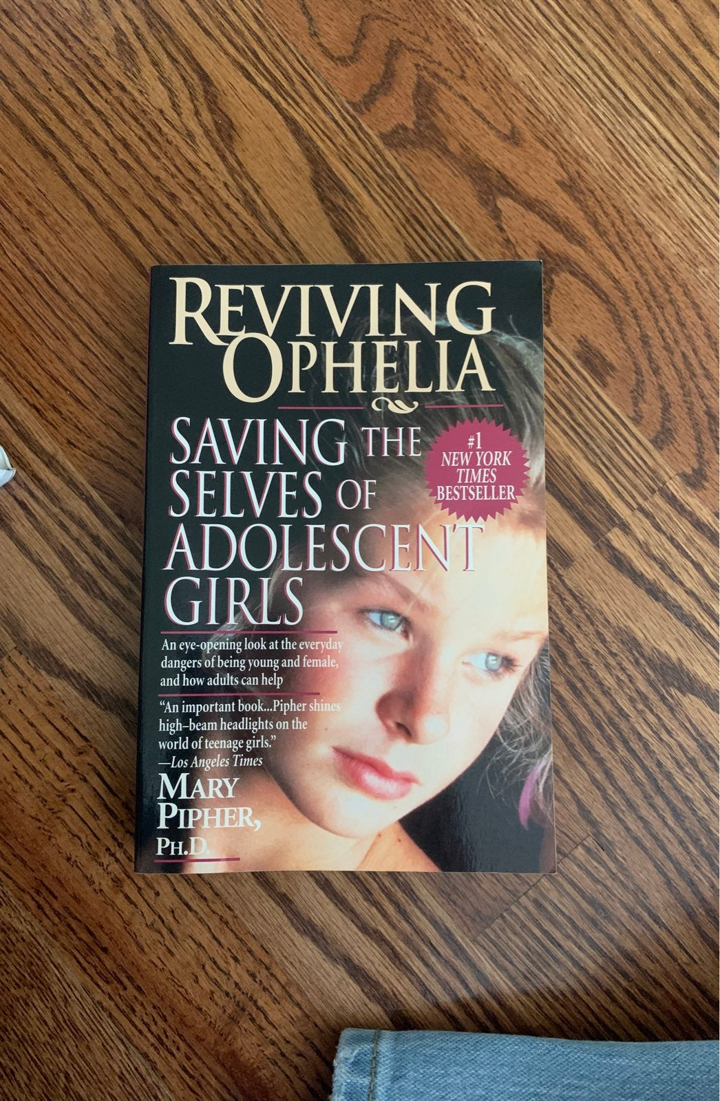 Book- Reving Ophelia Saving the Selves