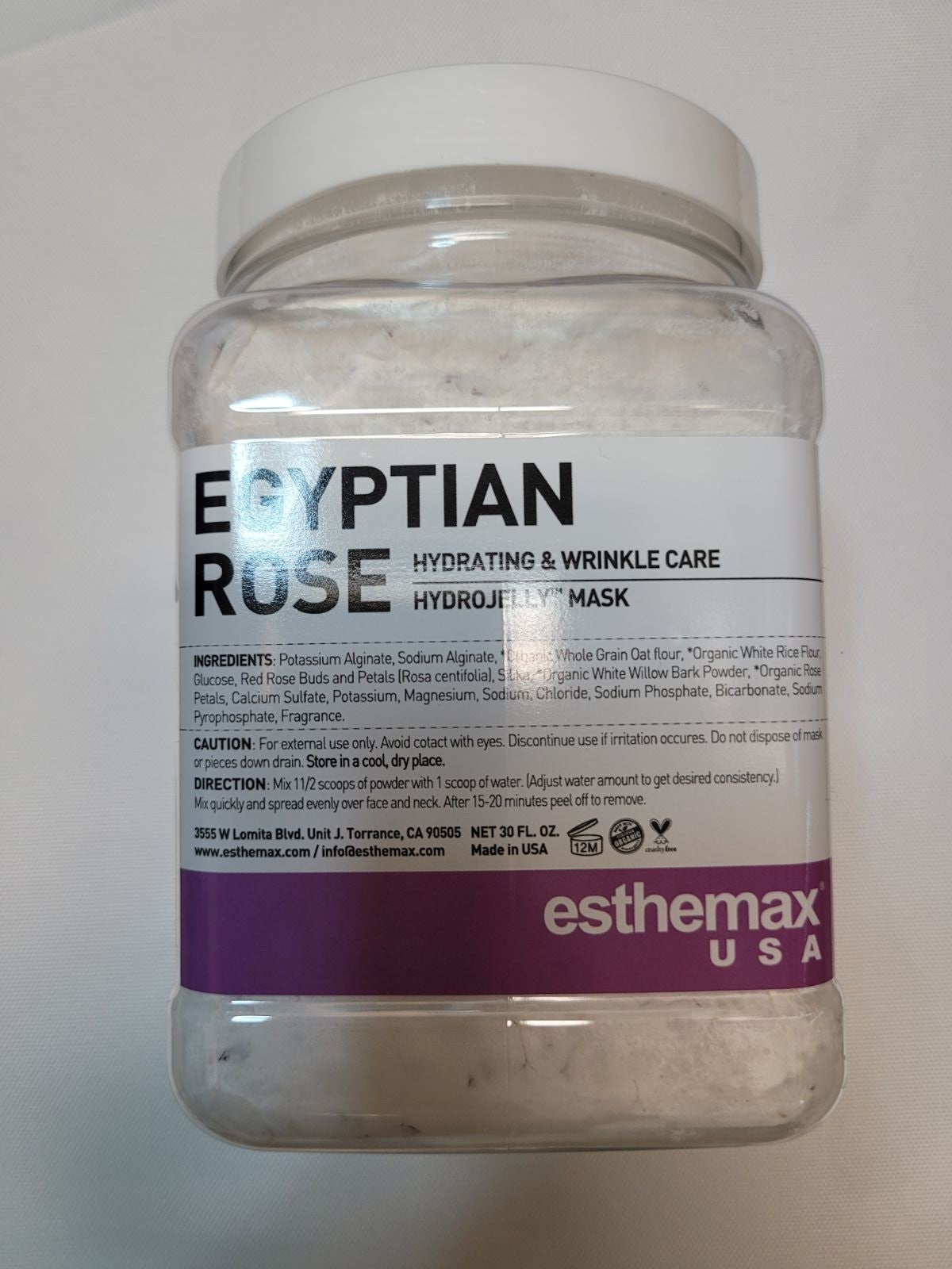 Esthemax Egyptian Rose Hydrojelly Mask