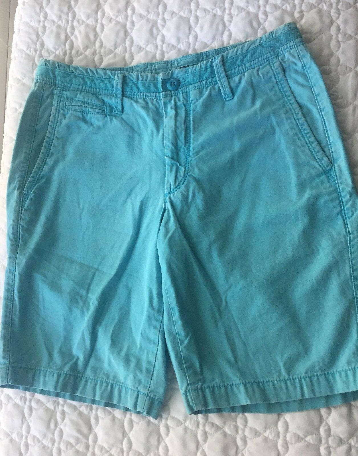 GAP mens shorts turquoise size 29