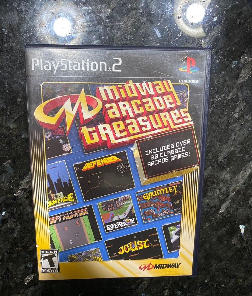 Midway Arcade Treasures 20 Games PS2