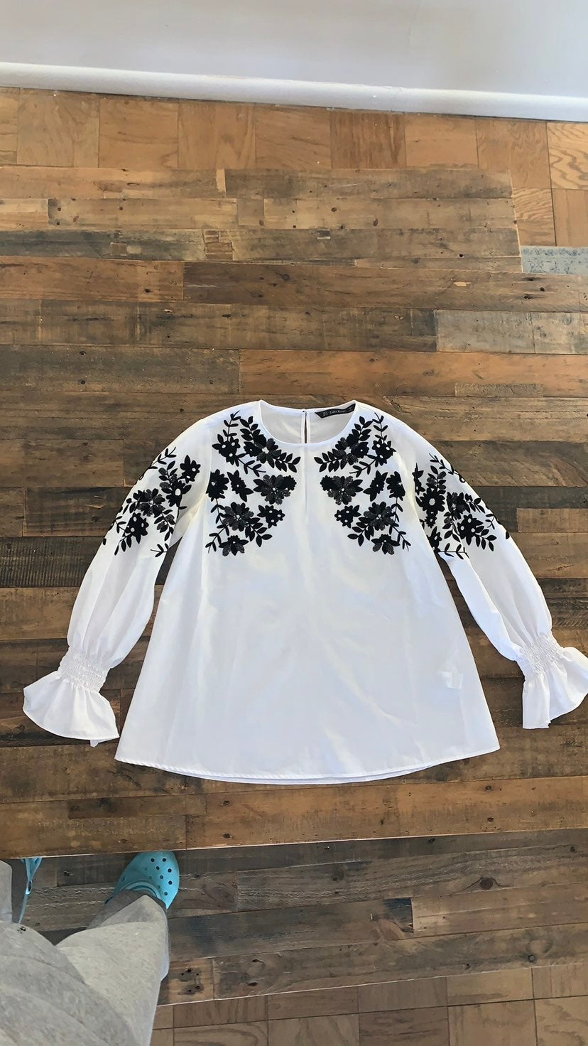 White Blouse, zara women