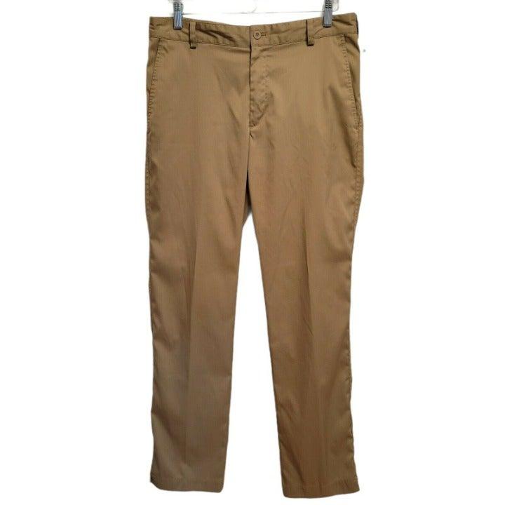 Men's 36x32 Nike Golf Pants - Dri-Fit - Tan Khaki - Polyester