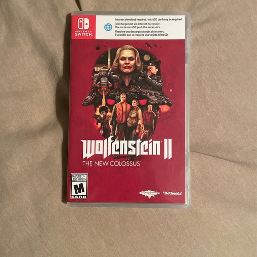 Wolfenstein II: The New Colossus on Nint