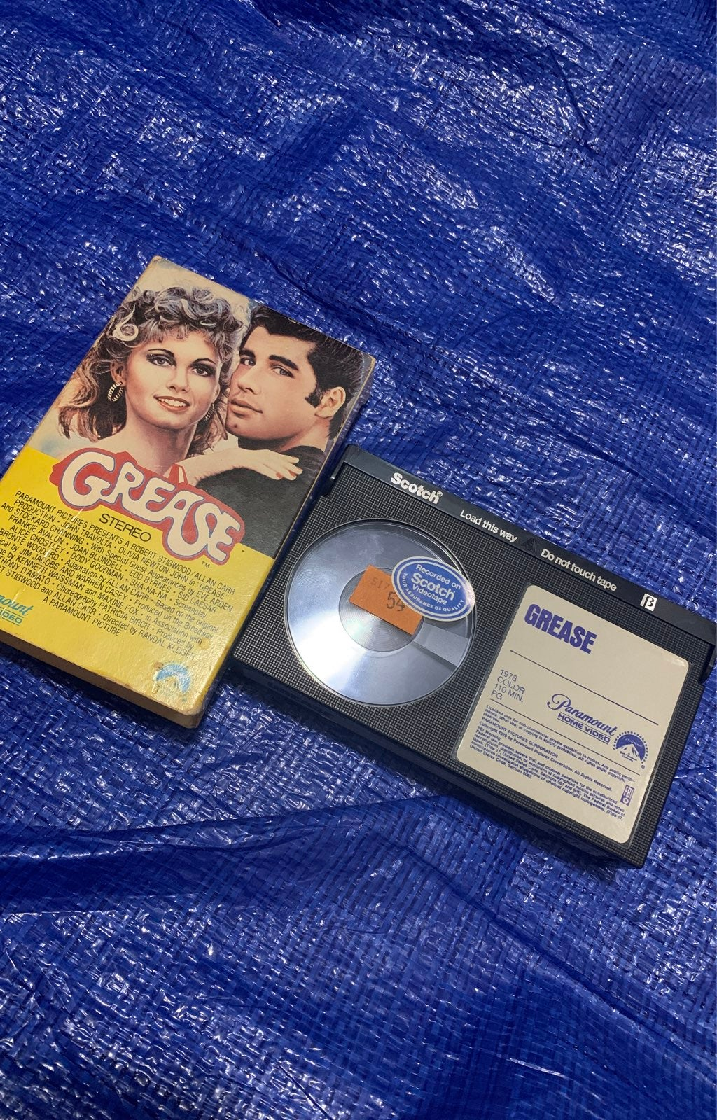 Grease (Stereo)