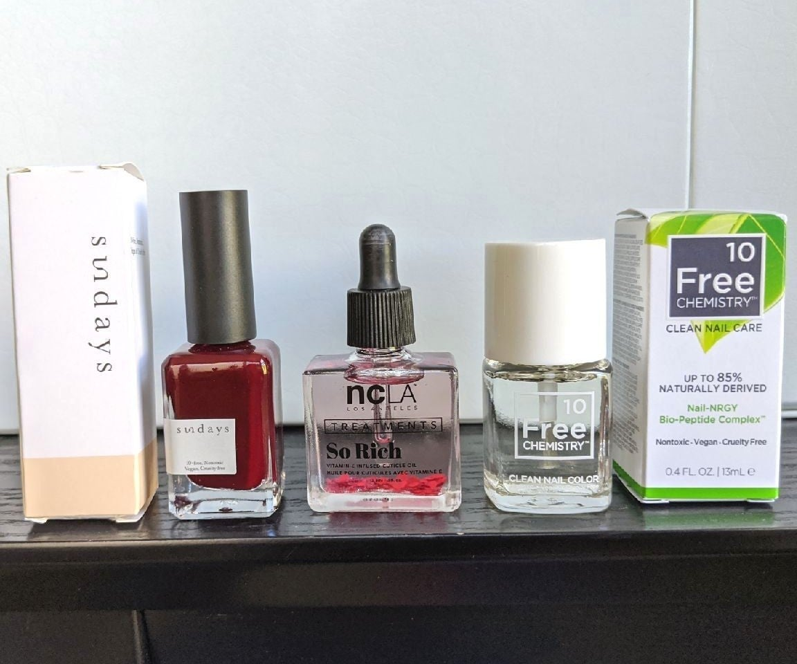 High end nail products