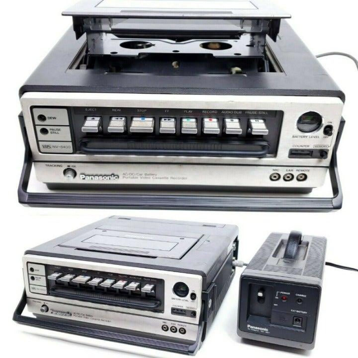 As-Is RARE Vtg 1980 Panasonic VCR VHS