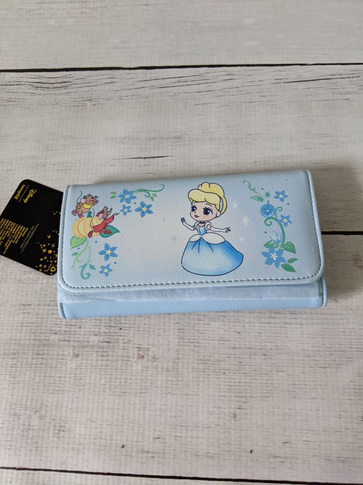 Loungefly Cinderella Wallet Gus Jaq