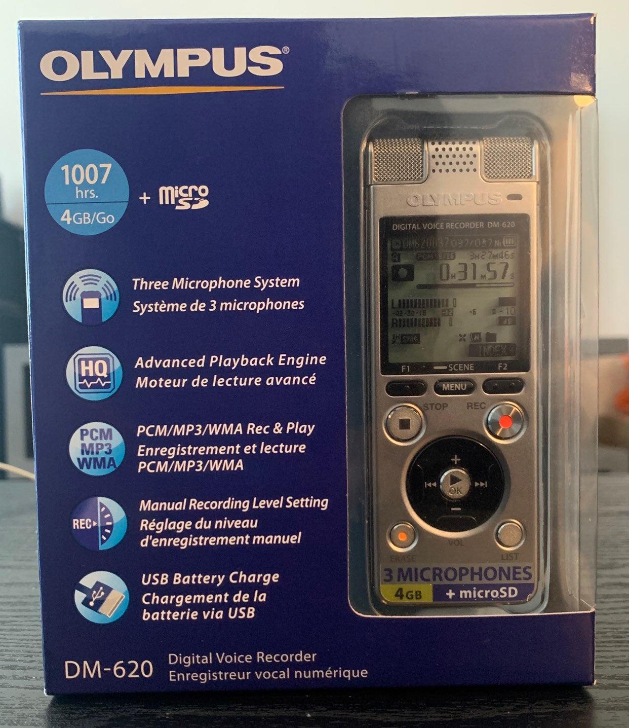 Olympus DM620 4GB Digital Voice Recorder
