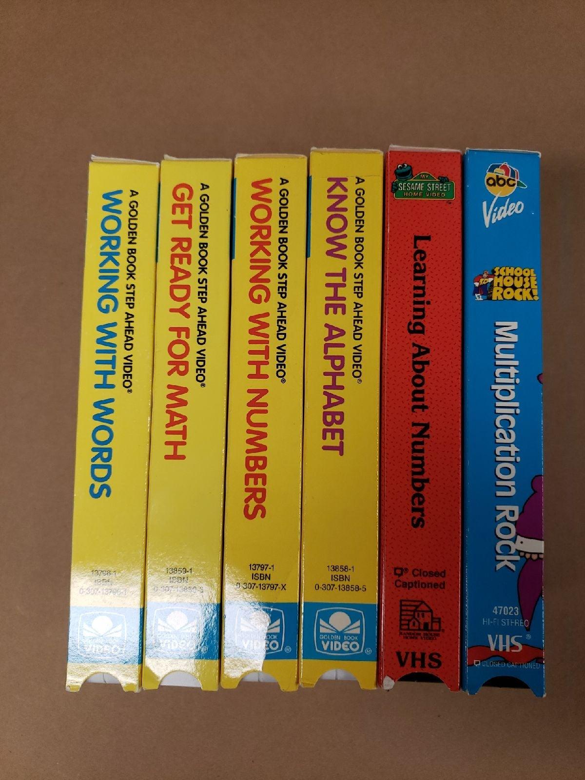Educational VHS Lot