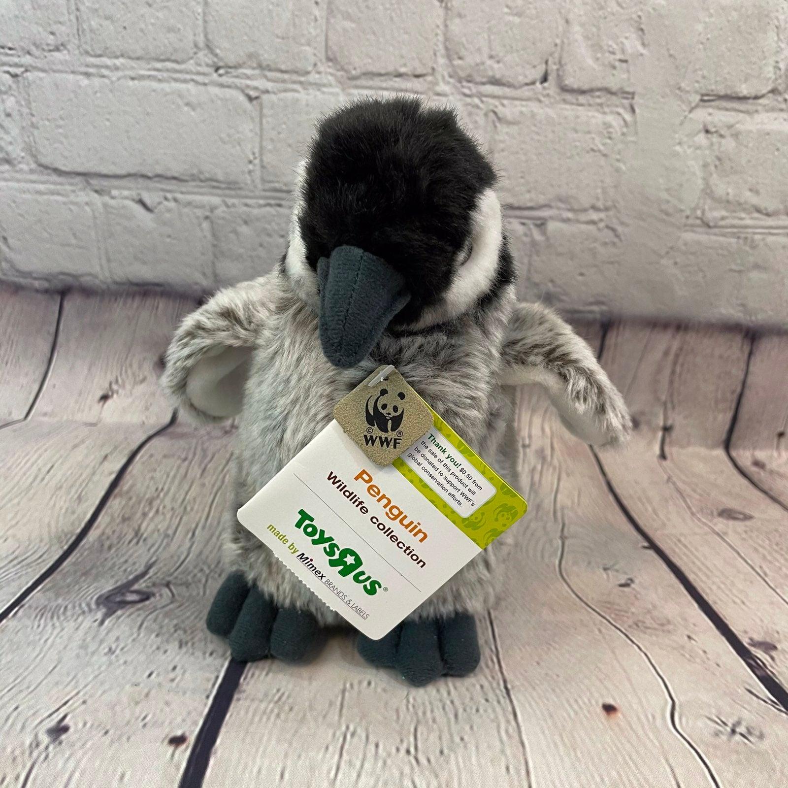 WWF Toys-R-Us Penguin Plush