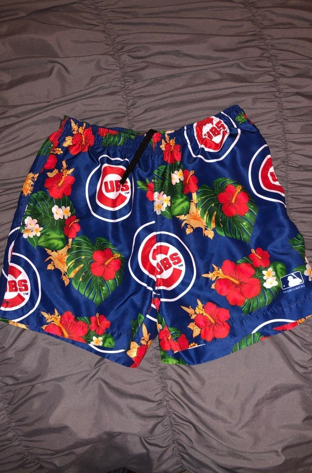 chicago cubs swimtrunks
