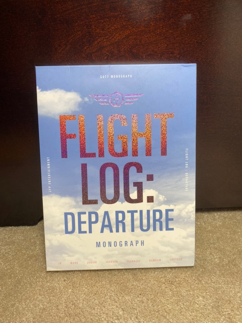 got7 flight log departure monograph