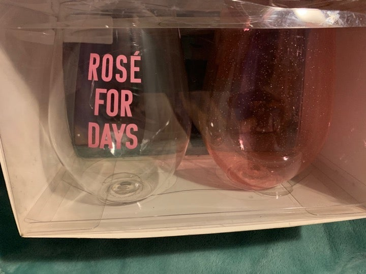 Stemless Wine Glass Set - JUMBO