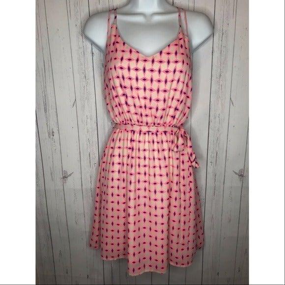 Pink Owl Size Small Sleeveless Dress