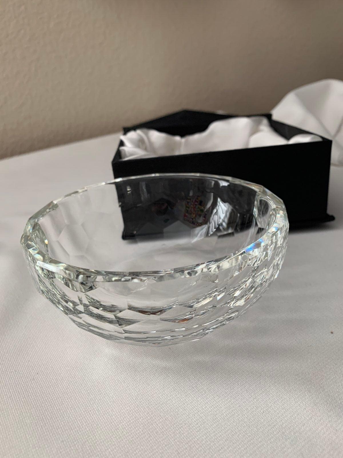 Oleg Cassini Crystal Bowl