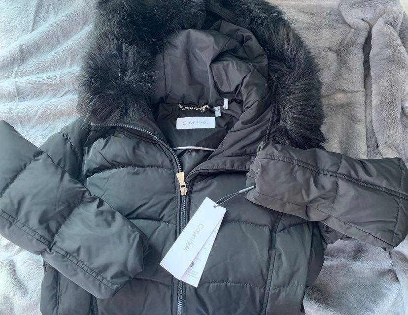 NWT Calvin Klein Puffer jacket