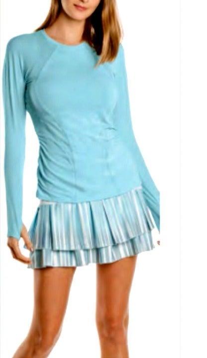 NWT Lucky In Love Tennis Skirt Skort L