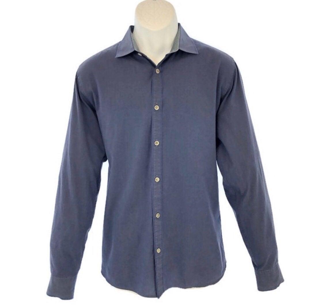 Ted Baker London Blue Long Sleeve Shirt