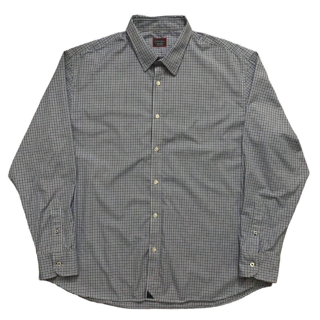 Untuckit Long Sleeve Shirt Blue 3XL