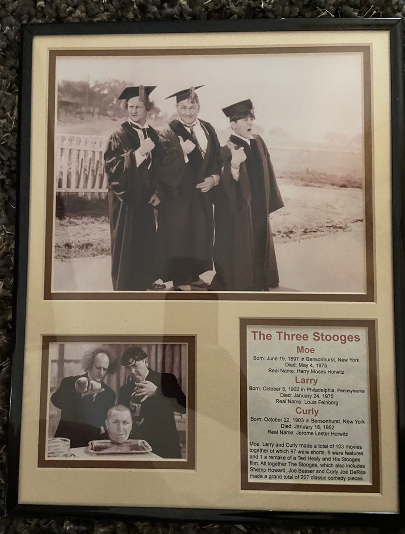 Three Stooges Framed picture