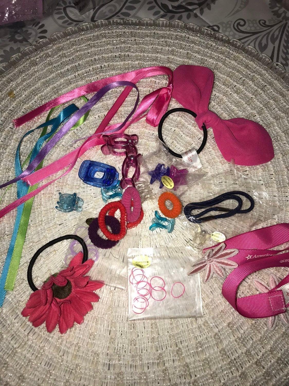 American Girl Hair accessories