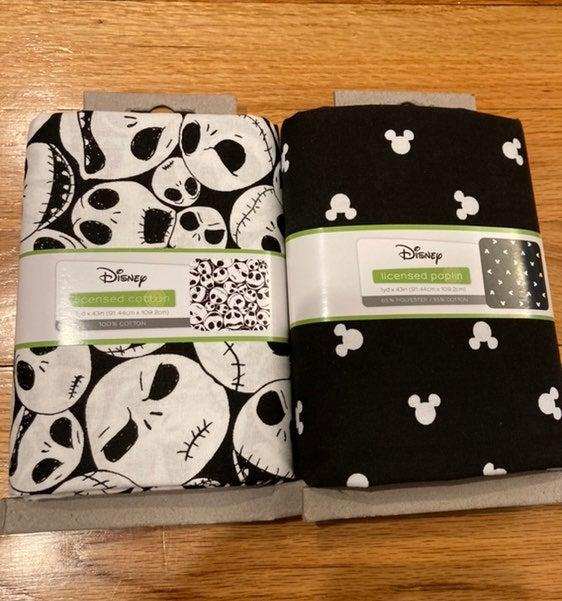 Disney Jack & Mickey 1 yard fabric