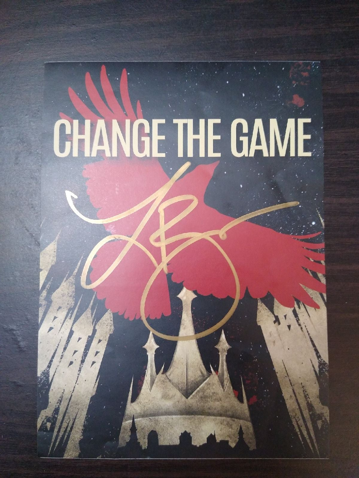 Leigh Bardugo Signed Bookplate Crooked K