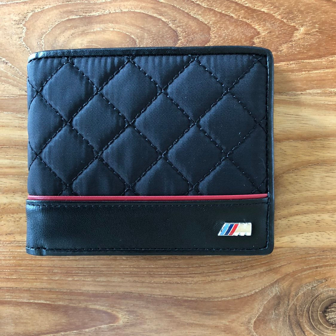 BMW M Wallet Quilted Black