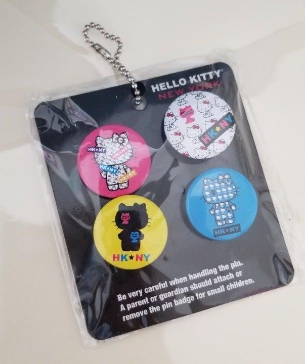 Sanrio Hello Kitty New York Pins