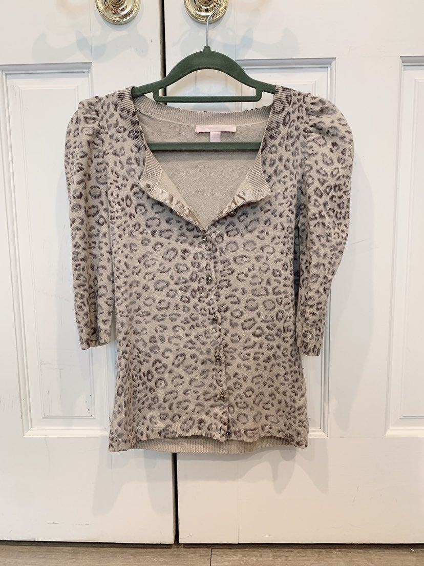 Rebecca Taylor silk and cashmere sweater