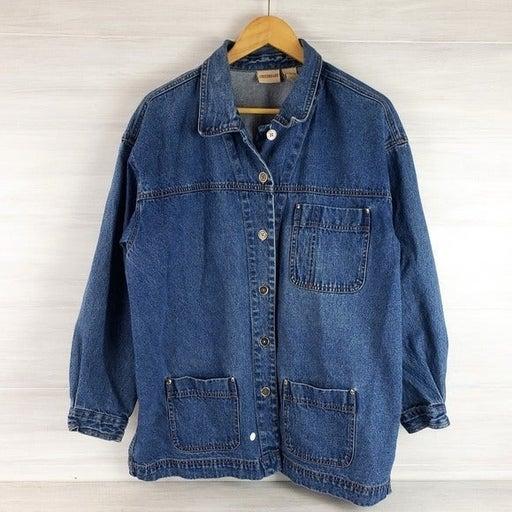 Vintage Crossroads Denim Jacket