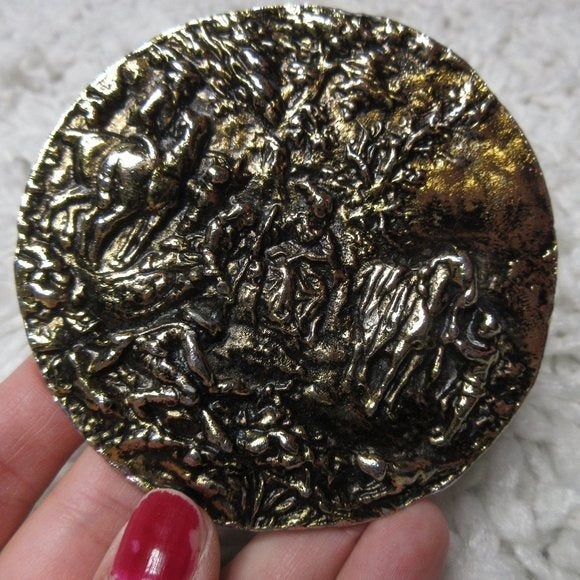 michelly creations belt buckle rare