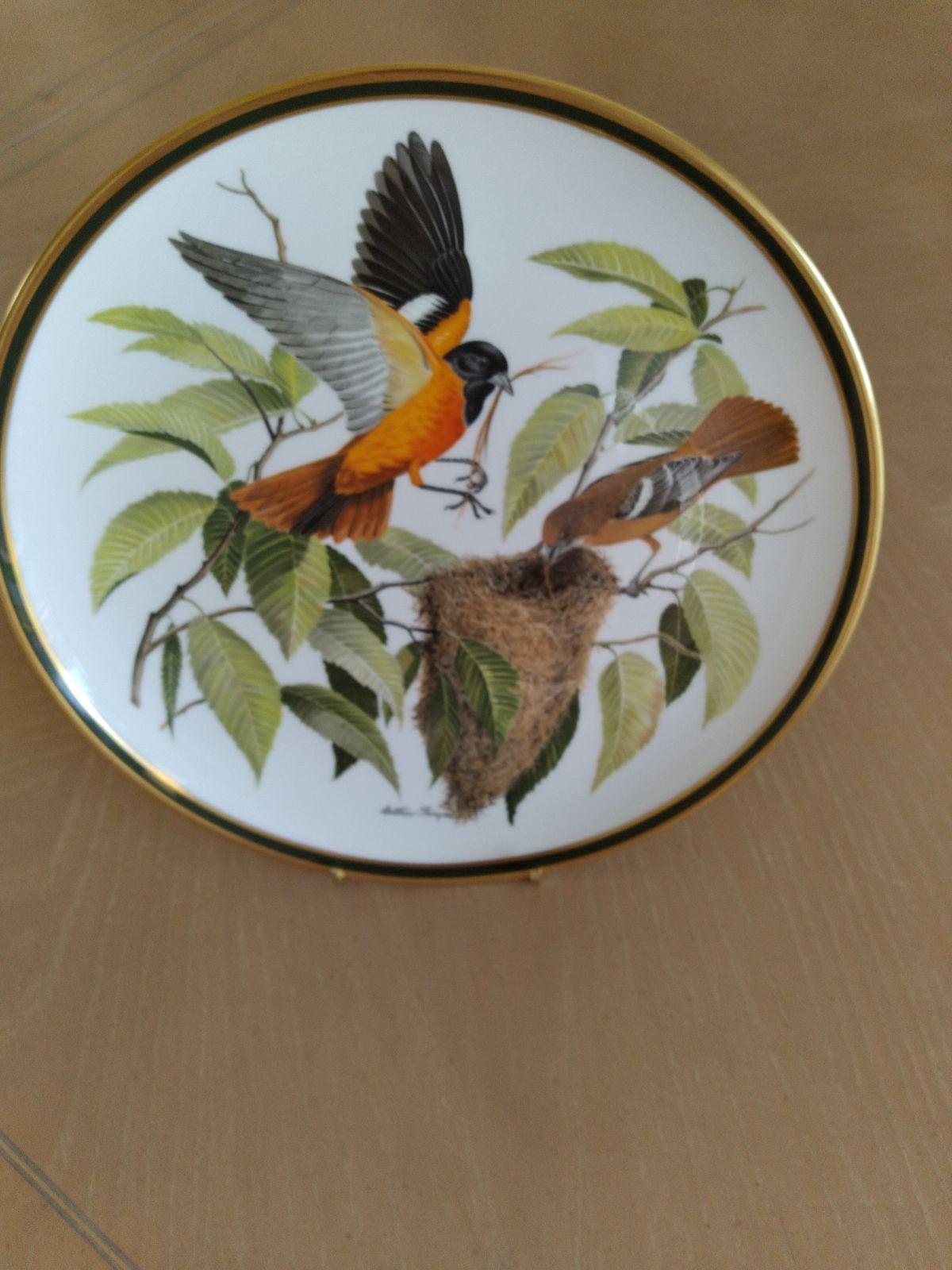 Audubon songbirds of America plate