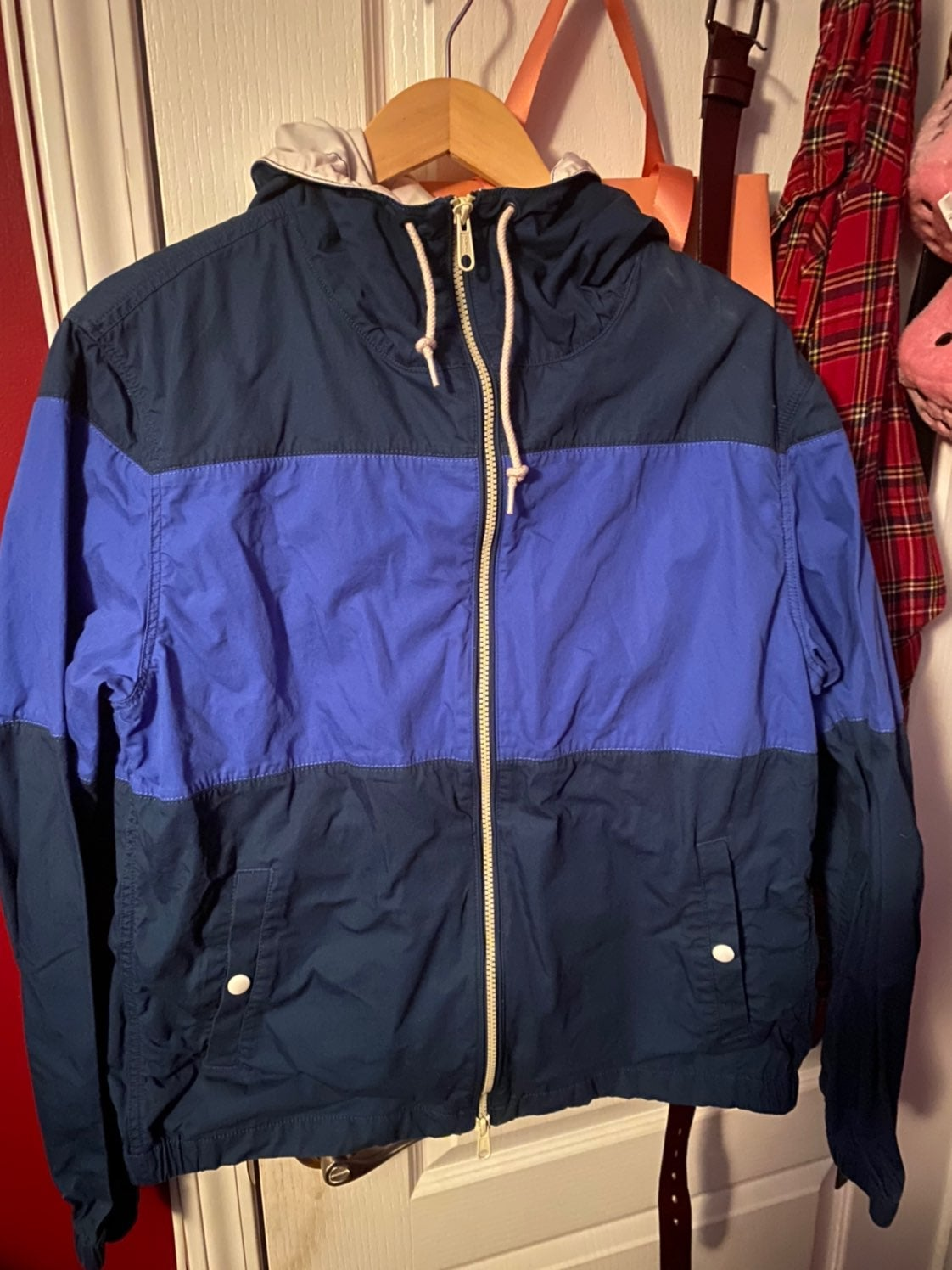 J.crew blue Jacket windbreaker jcrew