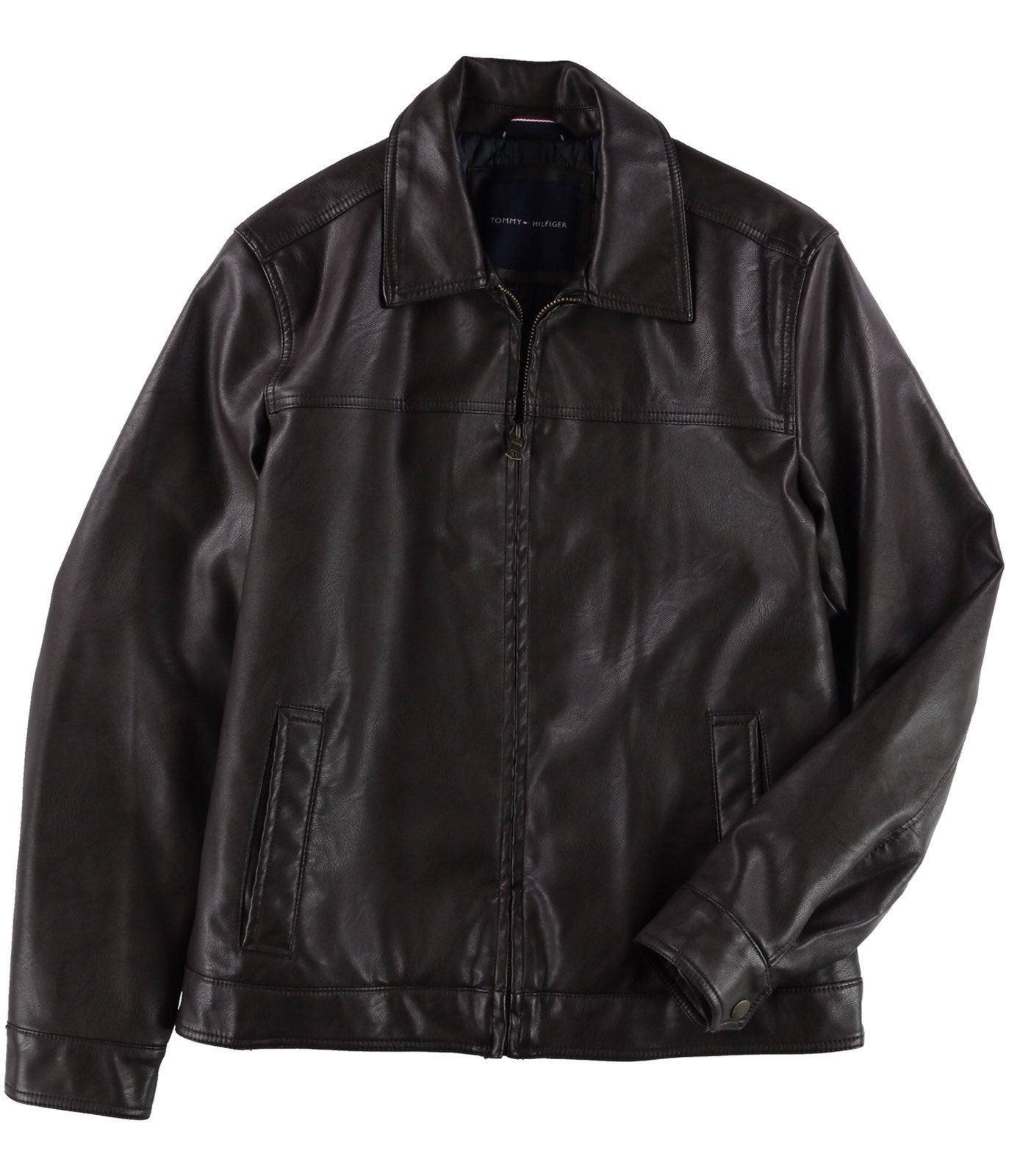 Tommy Hilfiger Collar Motorcycle Jacket