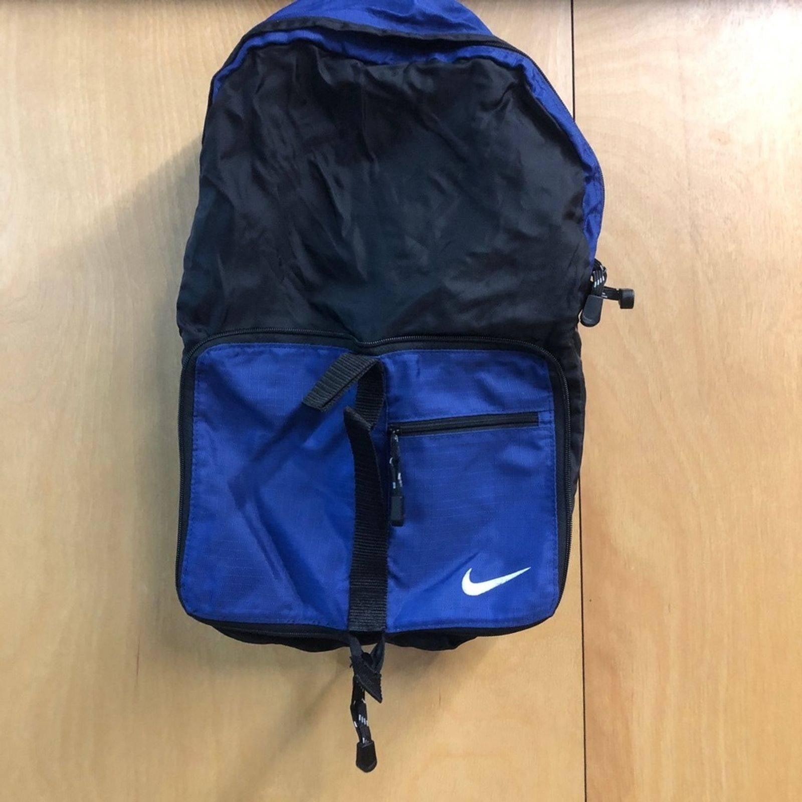 Nike Lightweight Packable Vinyl Backpack