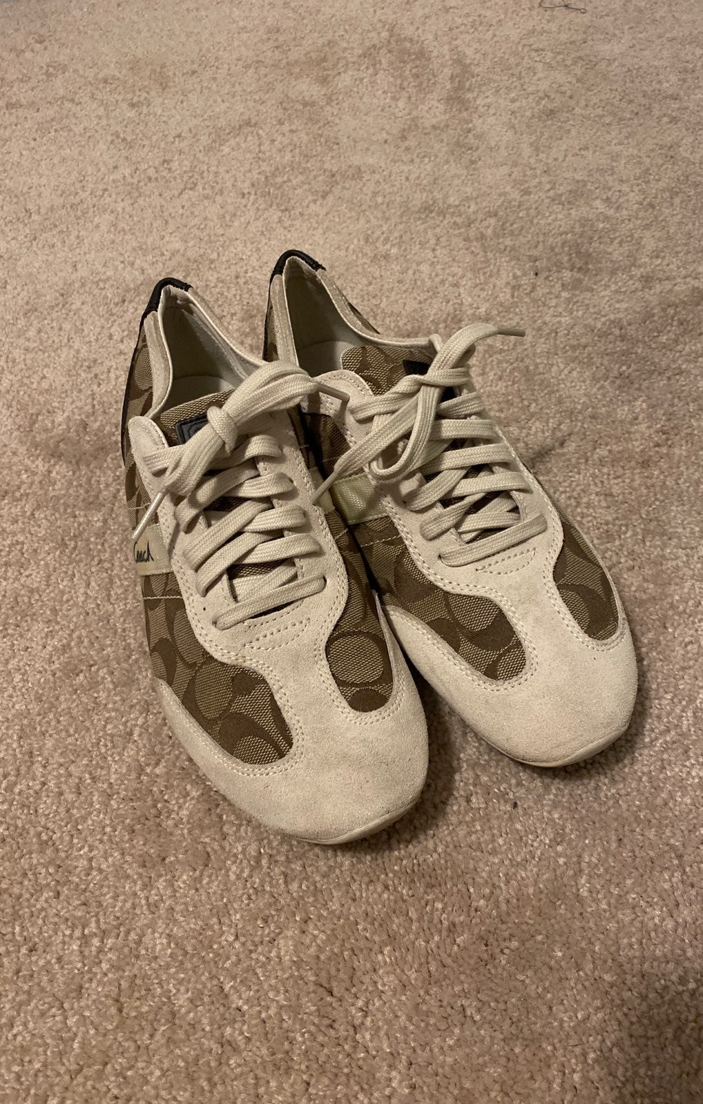 Coach lace up sneakers