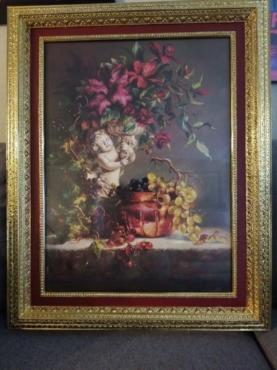 Cupid & Copper by Fran Di Giacomo Framed