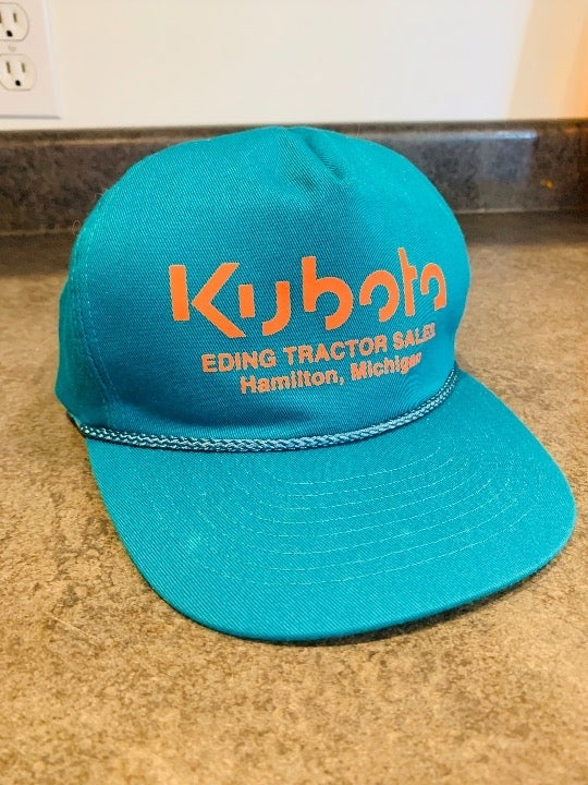 Vintage Kubota SnapBack Hat