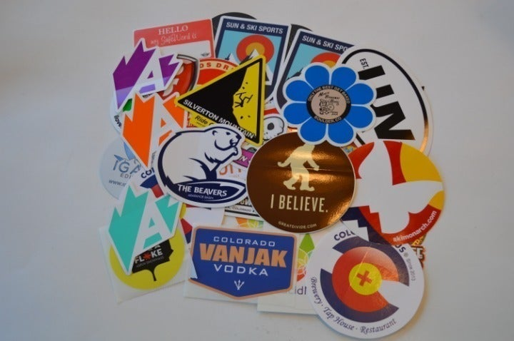 Well Over 50 Colorado Inspired Stickers