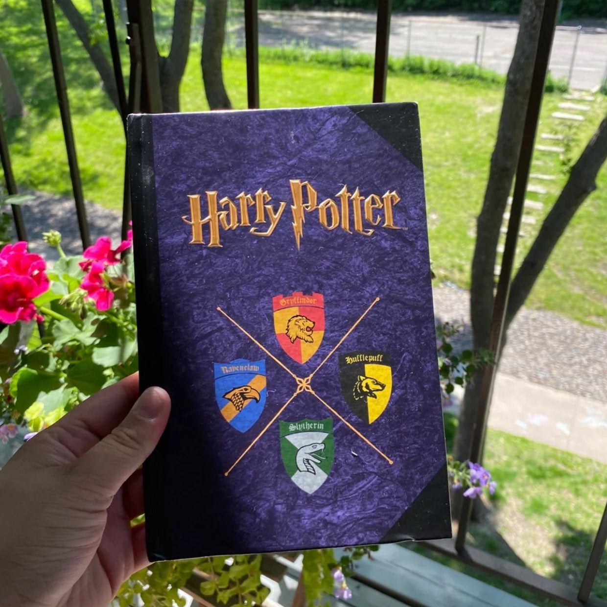 Harry potter note book