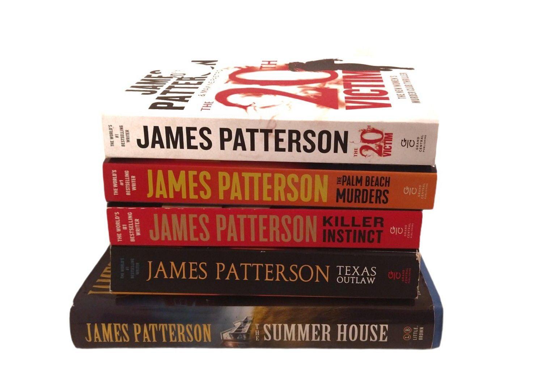 James Patterson Bestseller Book Bundle