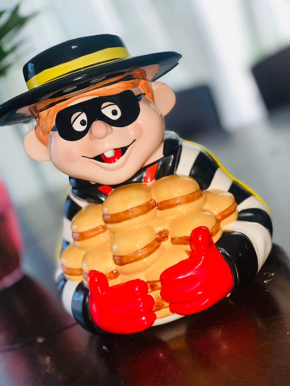 Mcdonalds Hamburglar Cookie jar
