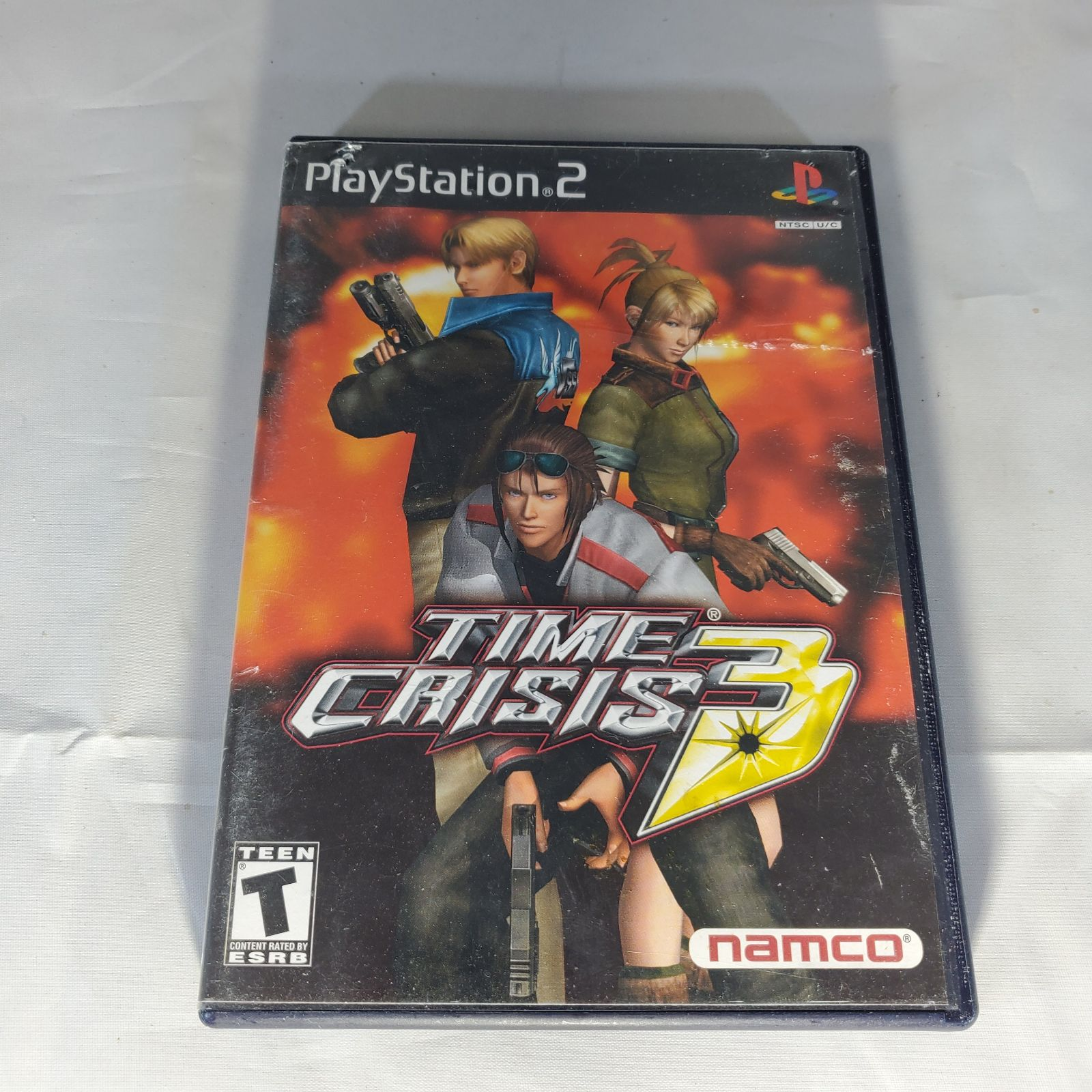 Time Crisis 3 PS2 Game Complete