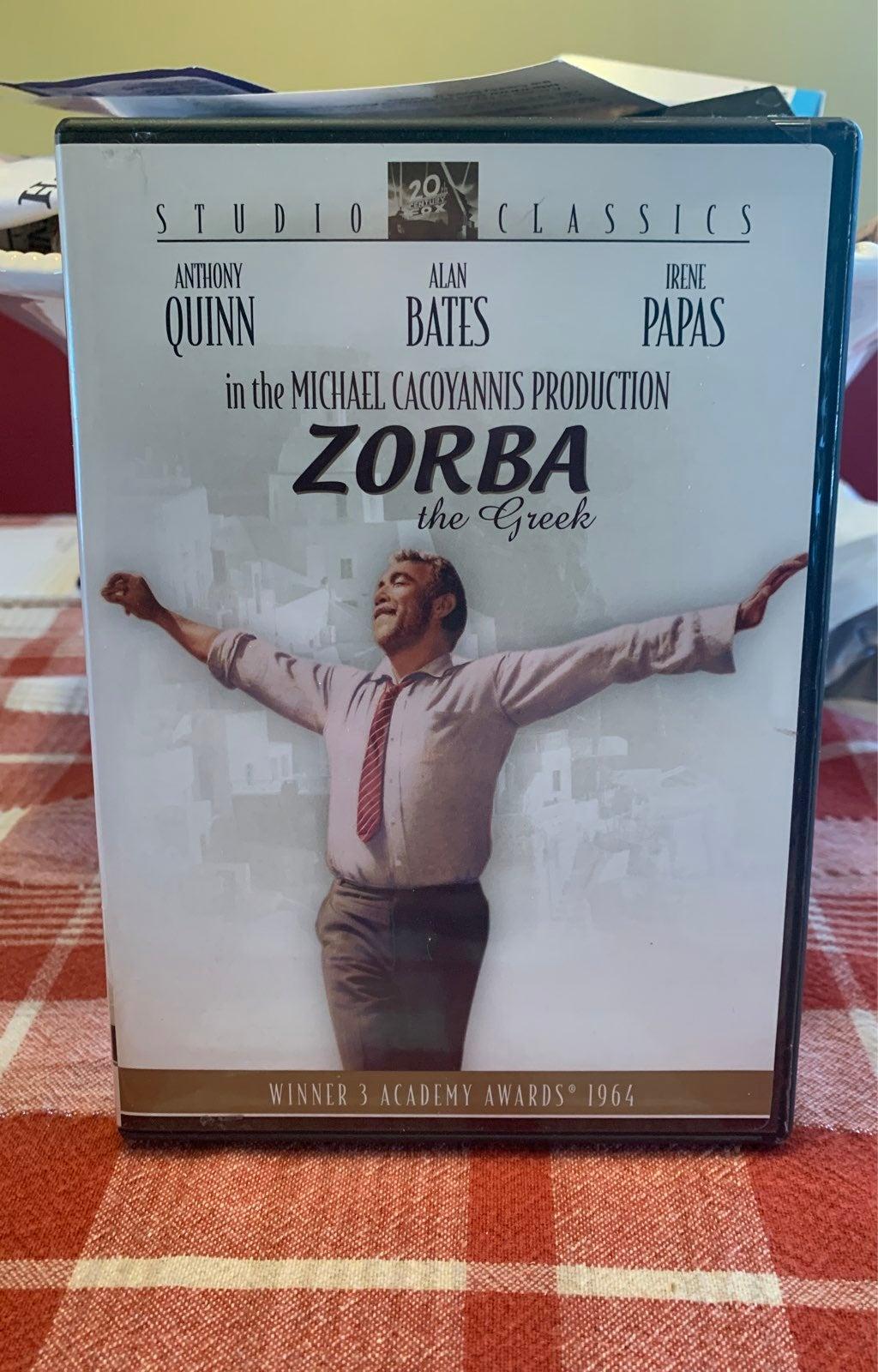 ZORBA THE GREEK DVD TESTED LIKE NEW
